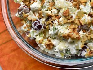 receta de ensalada Navideñareceta de ensalada Navideña